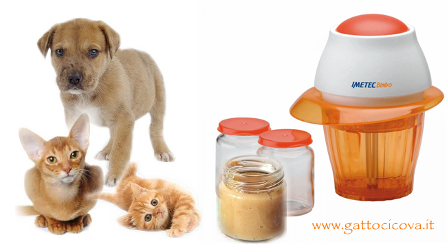 Omogeneizzati Naturali di Carne per Gatto e Cane